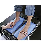 impronta piede con sistema sottovuoto
