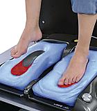impronta del piede con sistema sottovuoto